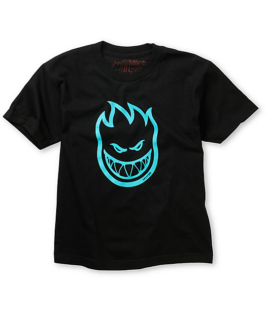 Spitfire Boys Bighead Black T-Shirt