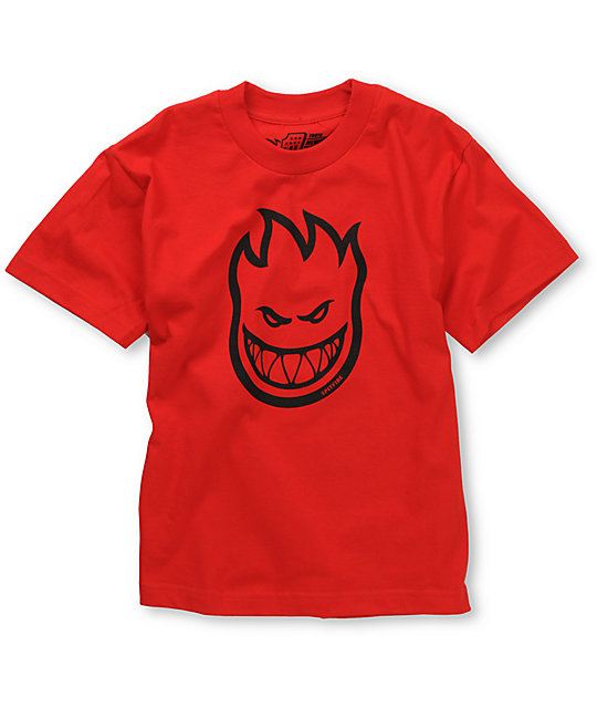Spitfire Boys Bighead Red T-Shirt