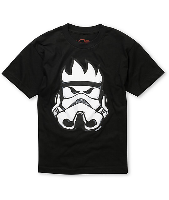 Spitfire Boys Burn Trooper Black T-Shirt
