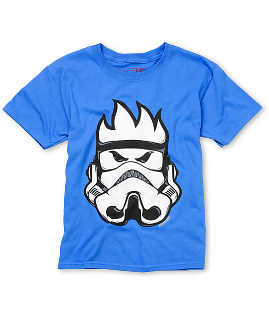 Spitfire Boys Burn Trooper Blue T-Shirt