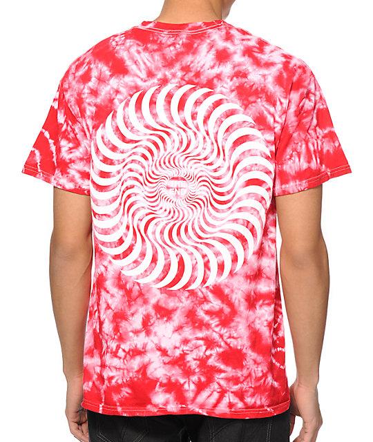 spitfire tie dye t shirt. spitfire classic swirl tie dye t-shirt t shirt s
