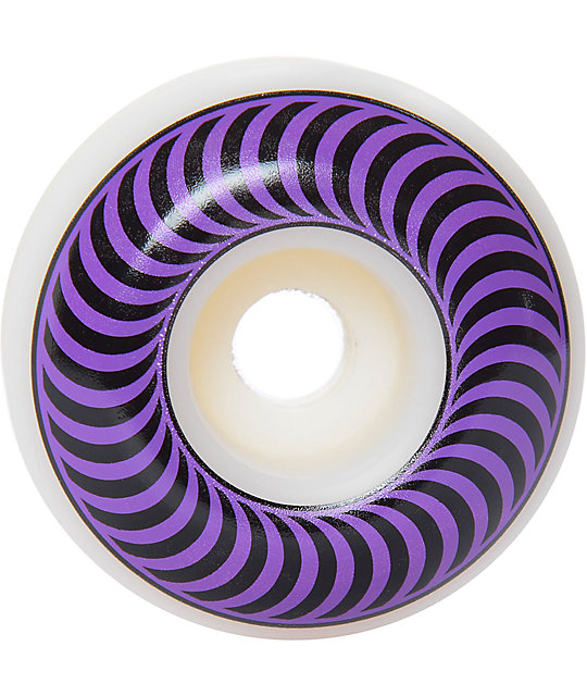 Spitfire Classics 58mm 99a Purple & Black Skateboard Wheels