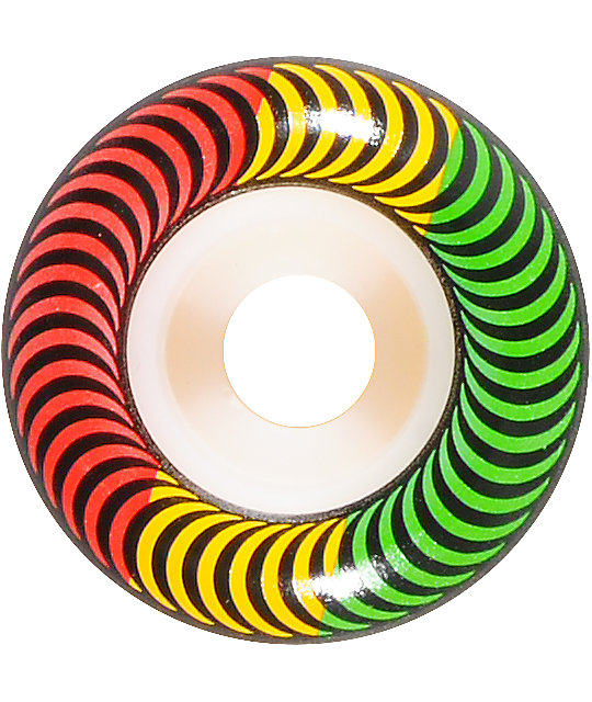 Spitfire Classics Rasta 52mm Skateboard Wheels