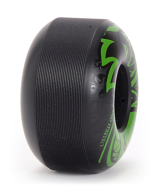 Spitfire Eternal Black & Green 52mm Skateboard Wheels