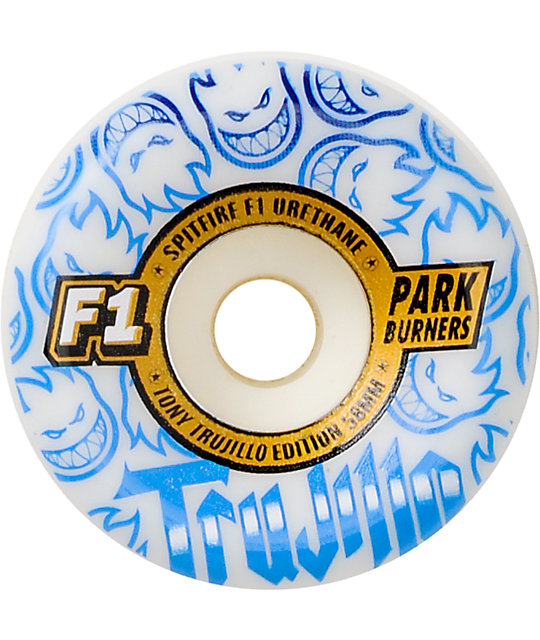 Spitfire F1 Trujillo Park 58mm Skateboard Wheels