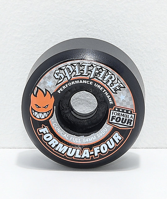 Spitfire F4 Conical 54mm 99a Skateboard Wheels