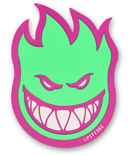 Spitfire Fireball Fill Medium Sticker