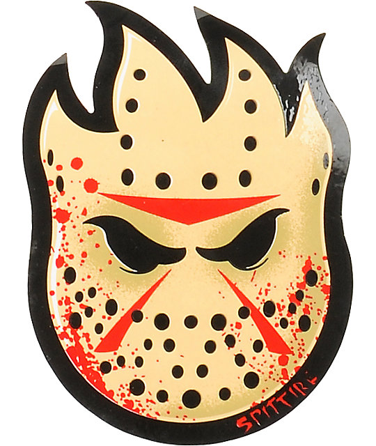 Spitfire Fireball Horror Bighead Sticker