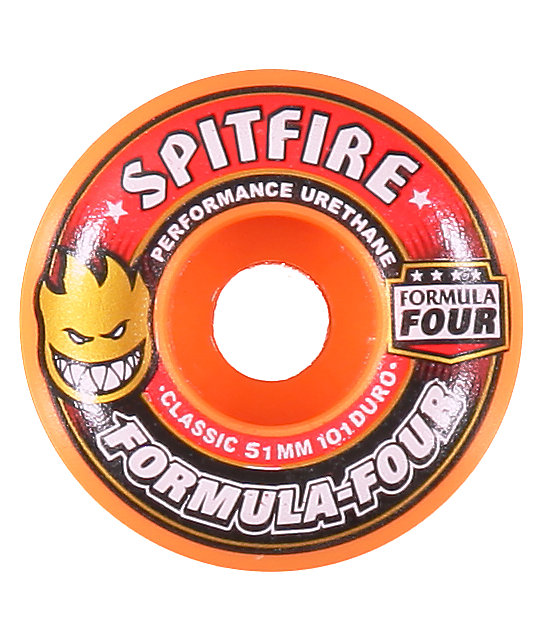 Spitfire Formula 4 51mm Skateboard Wheels