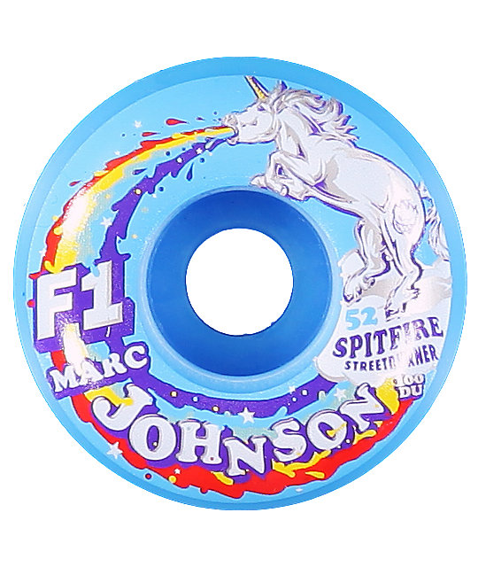 Spitfire Marc Johnson Spirit Animal 52mm F1 Skateboard Wheels