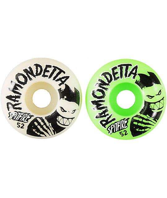 Spitfire Ramondetta Ghouls Mash 52mm Skateboard Wheels