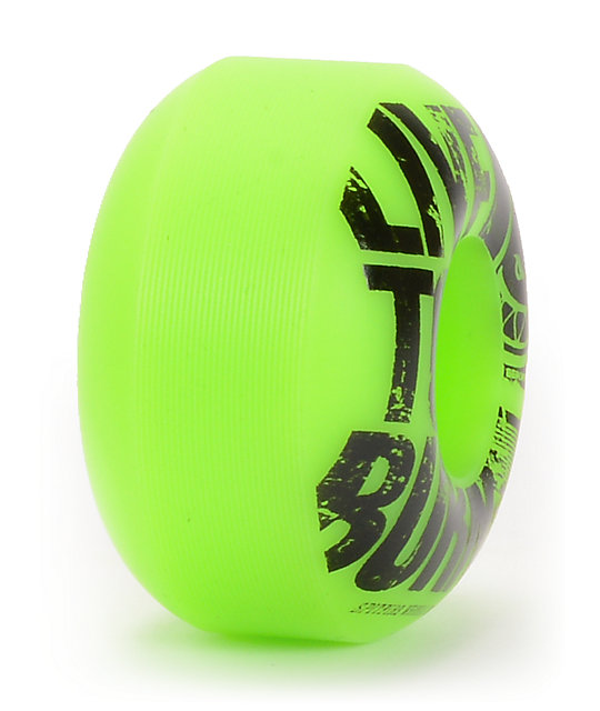 Spitfire Striker 54mm Green & Black Skateboard Wheels