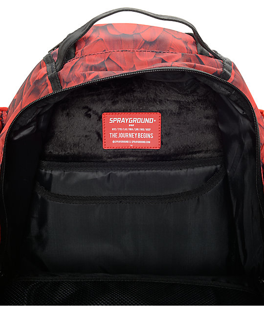 Sprayground Red Wings Backpack