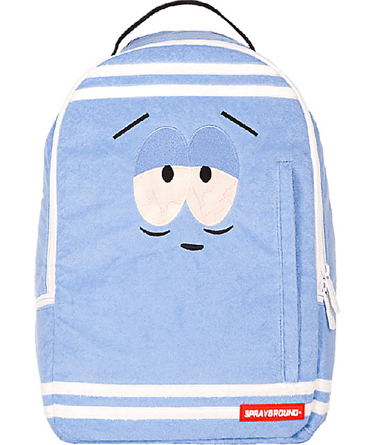 Sprayground South Park Towelie Blue Backpack