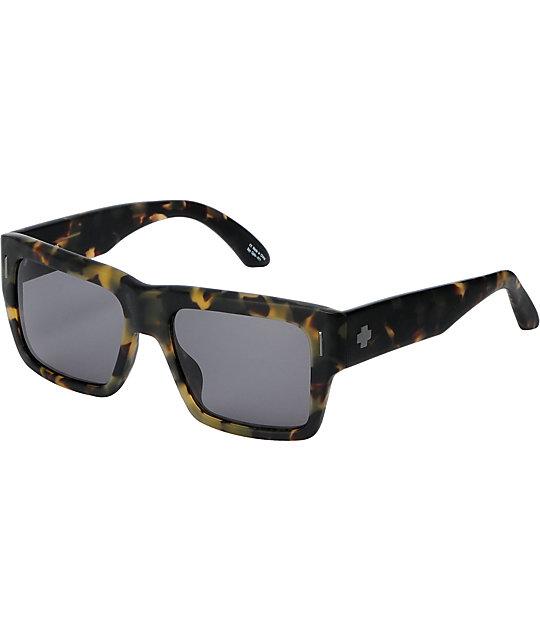 Spy Bowery Matte Army Tortoise Sunglasses