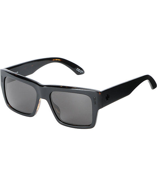 Spy Bowery Matte Black Tortoise Sunglasses