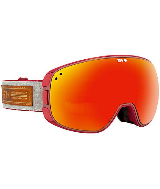 Spy Bravo Snowboard Goggles