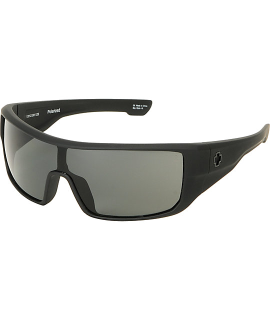 Spy Carbine Matte Black Polarized Sunglasses