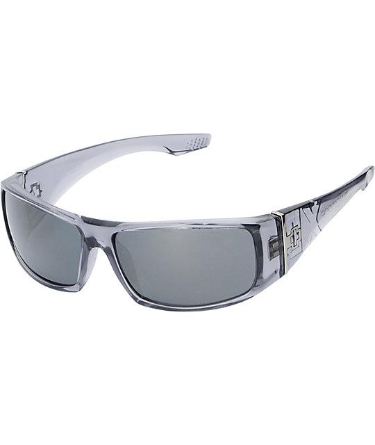 Spy Cooper XL Clear Smoke Sunglasses