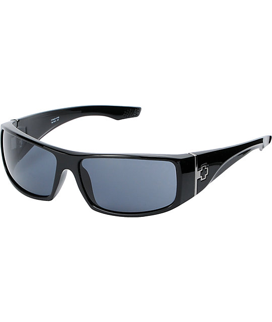 Spy Cooper XL Gloss Black Sunglasses