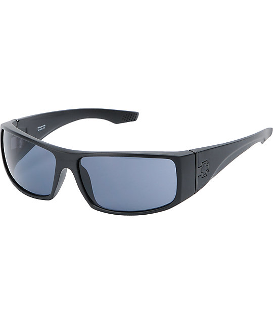 Spy Cooper XL Matte Black Sunglasses