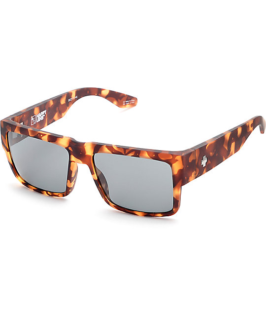 14fd25fe1c Spy Cyrus Soft Matte Camo Tortoise Happy Lens Sunglasses