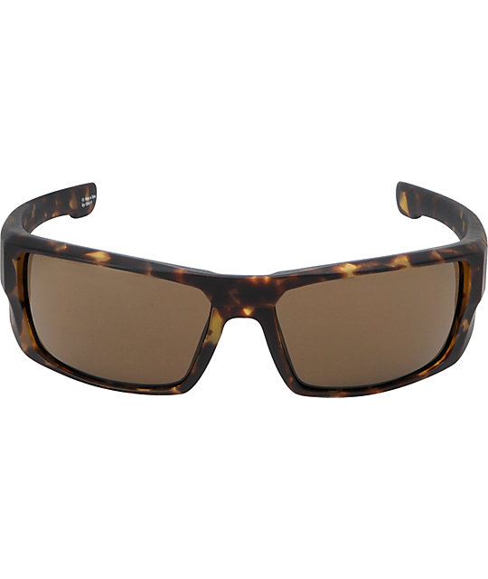 Spy Dirk Gloss Matte Camo Tort & Bronze Polarized Sunglasses