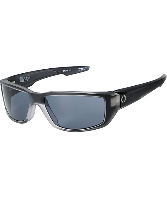 Spy Sunglasses Dirty Mo  spy dirty mo black ice matte sunglasses at zumiez pdp