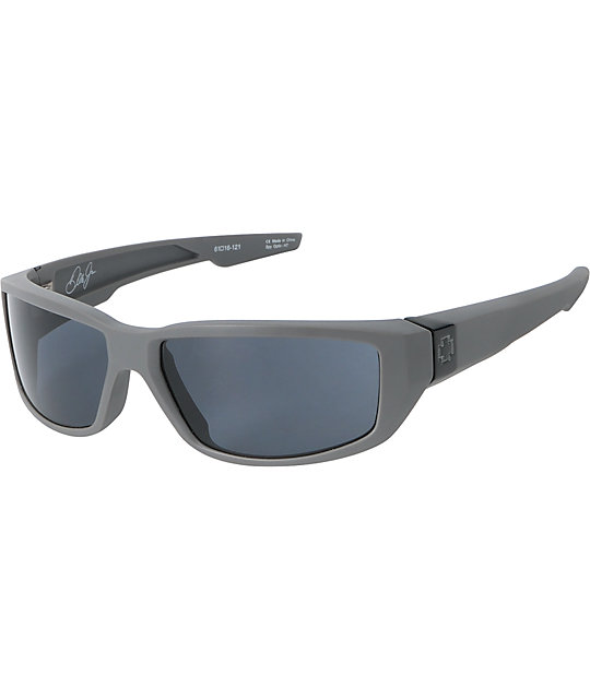 Spy Dirty Mo Primer Grey & Grey Sunglasses