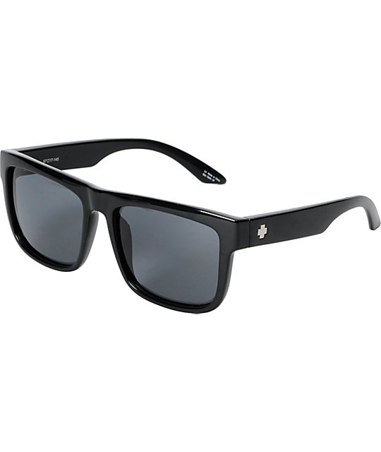 Spy Discord Black Sunglasses