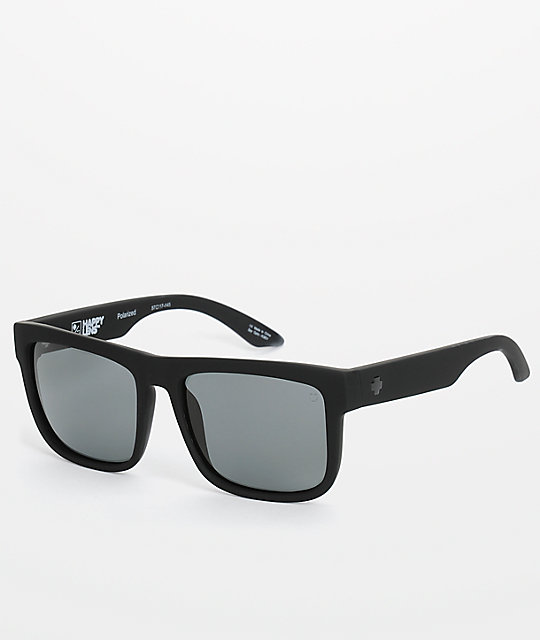 polarized black sunglasses  Spy Discord Polarized Happy Lens Sunglasses at Zumiez : PDP