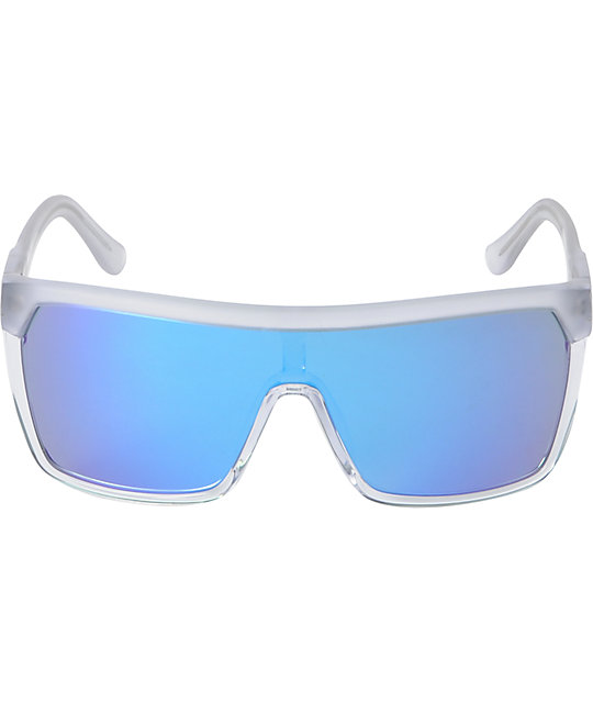 Spy Flynn Clear & Blue Sunglasses