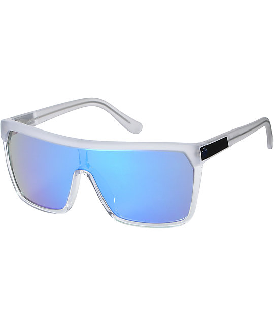 Spy Sunglasses Flynn  spy flynn clear blue sunglasses at zumiez pdp