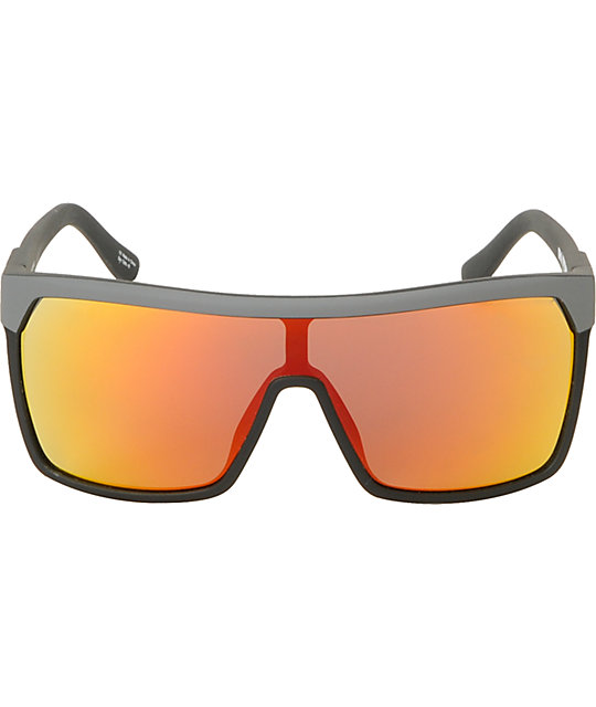 Spy Flynn Messenger Grey & Orange Spectra Sunglasses