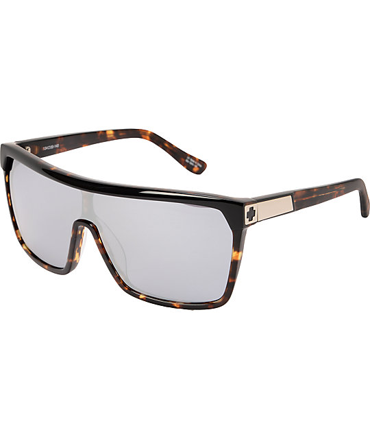 Spy Flynn Tortoise Grey & White Sunglasses