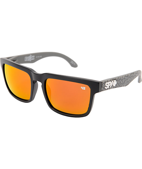 Spy Helm Ken Block Concrete Grey & Red Spectra Sunglassess