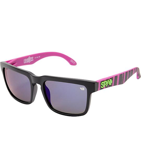 Spy Helm Ken Block Ripper Grey & Purple Spectra Sunglassess