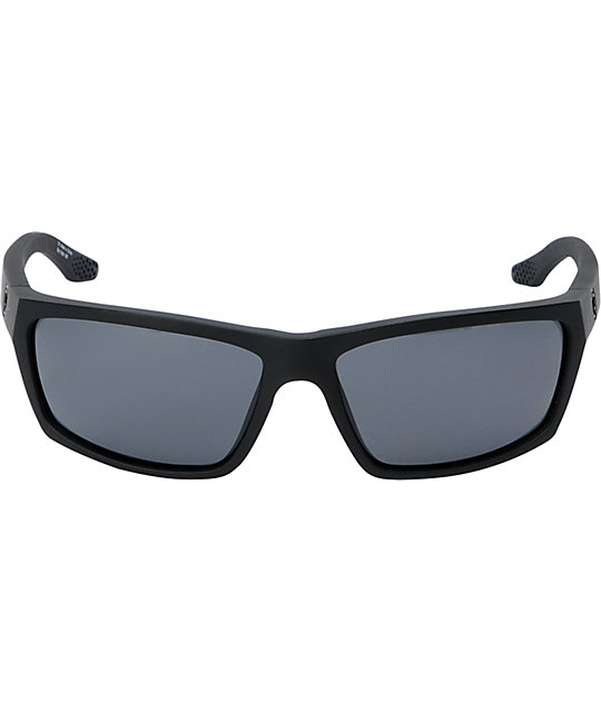 Spy Kash Matte Black Polarized Sunglasses