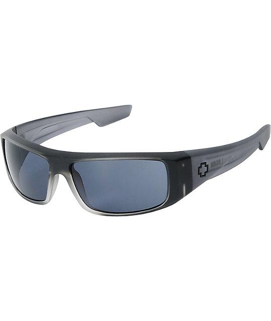 Spy Logan Black Ice Matte Sunglasses