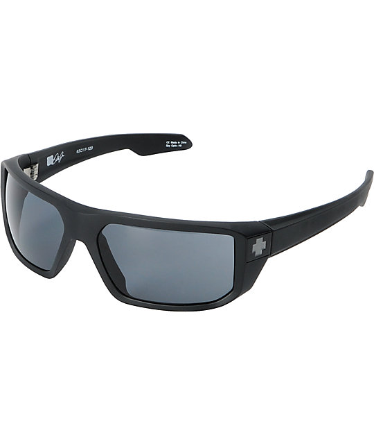 Spy McCoy Earnhardt Collection Matte Black Sunglasses