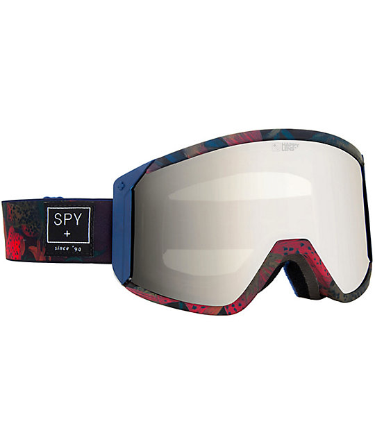 Spy Raider Darrell Mathes Snowboard Goggles