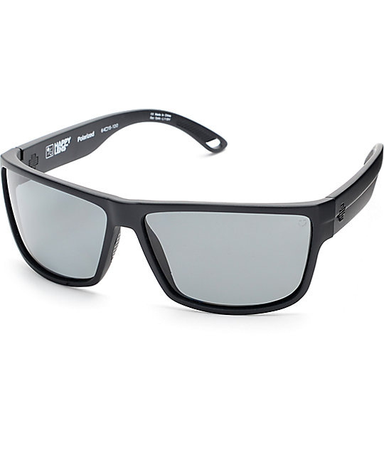 Spy Rocky Matte Black Happy Lens Sunglasses