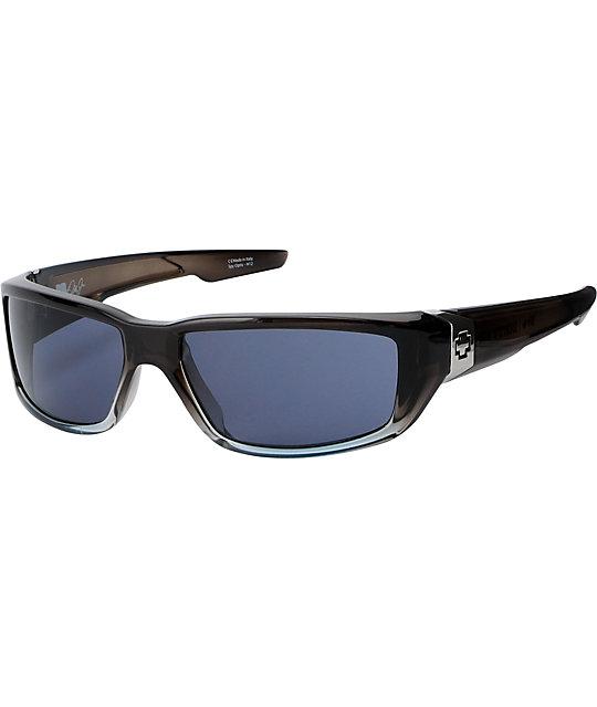 Spy Sunglasses Dirty Mo Crystal Grey Fade Sunglasses