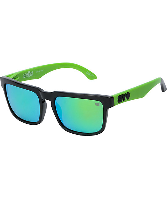 Spy Sunglasses Helm Ken Block Rally Green & Grey Sunglasses