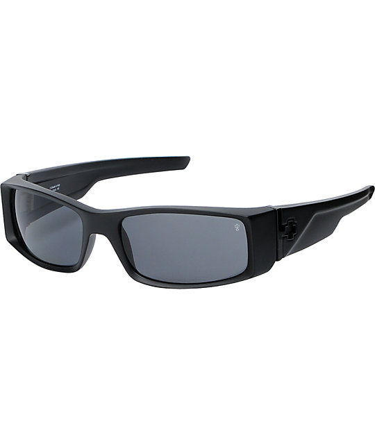 Spy Sunglasses Hielo Matte Black Polarized Sunglasses