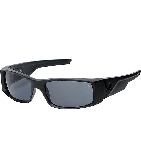 Spy Sunglasses Hielo Matte Black Polarized Sunglasses