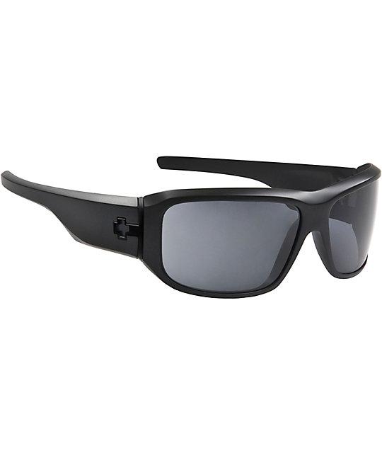 Spy Sunglasses Lacrosse Matte Black Sunglasses