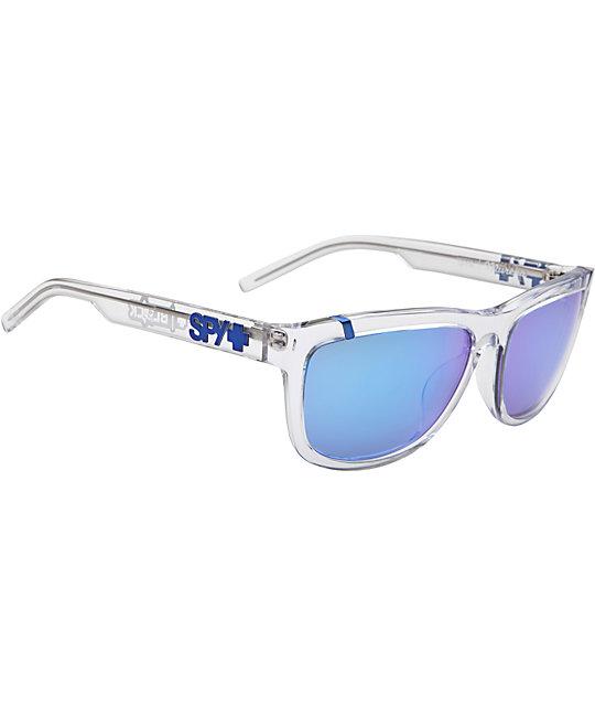 Spy Sunglasses Murena Ken Block Clear & Blue Spectra Sunglasses