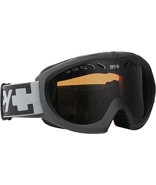 Spy Targa II Matte Grey & Silver Mirror Snowboard Goggles