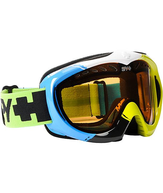 Spy Targa II X-Wing Green & Blue Snowboard Goggles